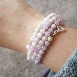 Jay King Jewelry - Authentic Jay King pink kunzite stretch bracelet